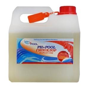PH+Pool Гипохлор-жидкий 3л