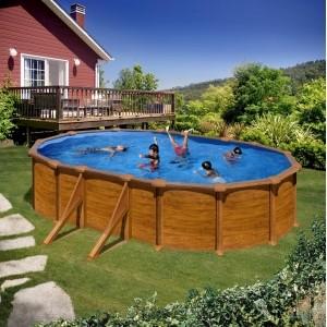 Каркасный овальный бассейн GRE P500WO 500 x 300 x 120 cm