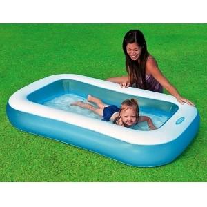 Детский надувной прямоугольный бассейн