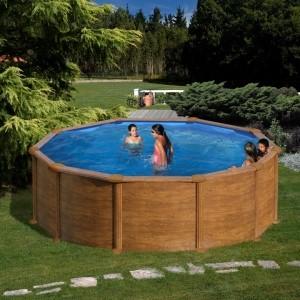 Каркасный круглый бассейн GRE KITPR458WO 460 x 460 x 132 cm