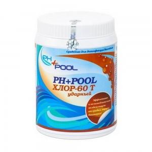 Ph+pool хлор-60t ударный в таблетках по 20гр 1кг