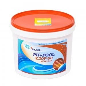 PH+Pool Хлор-60 Ударный в гранулах 4кг
