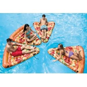 "Пляжный матрас ""Пицца"" Intex"