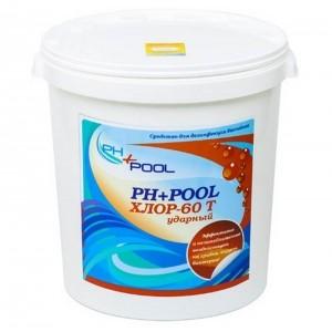 PH+Pool Хлор-60T Ударный в таблетках по 20гр 30кг