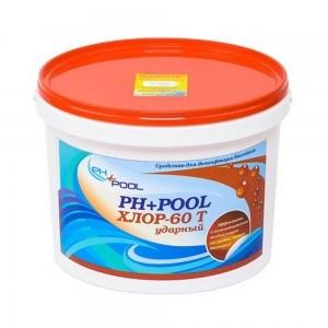 Ph+pool Хлор-60t ударный в таблетках по 20гр 10кг