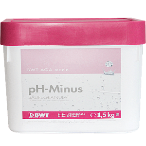 Кислотный гранулят для снижения pH BWT AQA MARIN PH MINUS, 7,5кг