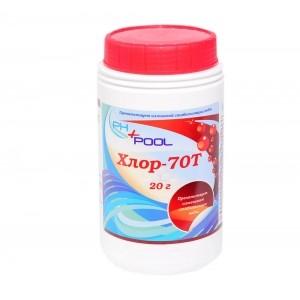 Ph+pool Хлор-70t ударный в таблетках по 20гр 1кг