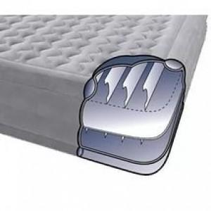 Кровать ортопедическая серая со встронным эл.насосом 220В