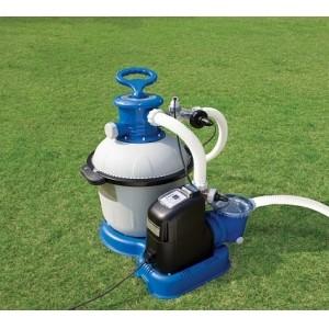 Песочный фильтр-насос с хлорогенератором
