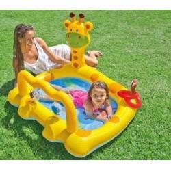 Детский надувной бассейн Улыбающийся жираф