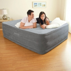 Надувная кровать INTEX M64418 Comfort-Plush 152х203х56см