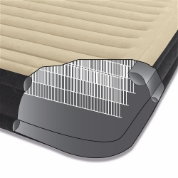 Двуспальная надувная кровать Premium Comfort Airbed со встроенным насосом