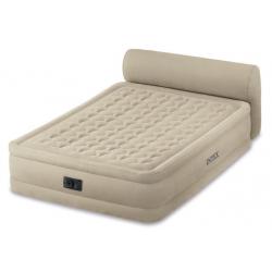 Двуспальная надувная кровать Headboard bed Fiber-Tech