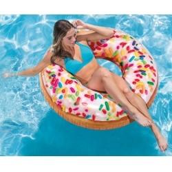 """Надувной круг """"Пончик с присыпкой"""" Intex"""