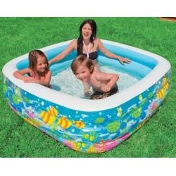 """Надувной детский бассейн """"Аквариум"""" Intex Clearview Aquarium Pool"""