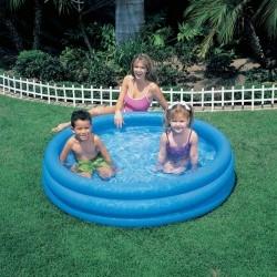 """Надувной детский бассейн """"Кристалл"""" Intex Crystal Blue"""