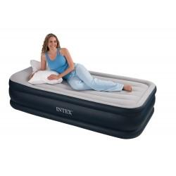 Надувная кровать Deluxe со встроенным насосом