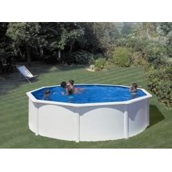 Каркасный круглый бассейн GRE PR458 460 x 460 x 132 cm.