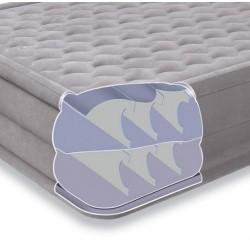 Кровать ортопедическая светлая со встроенным эл.насосом 220В
