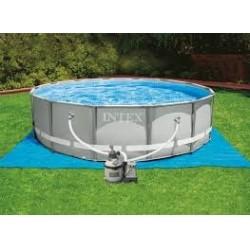 28312 Каркасный бассейн Ultra Frame Pool Intex 427х122