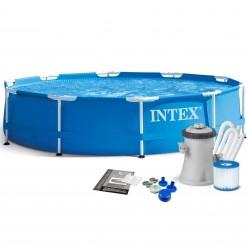 Каркасный бассейн Intex Metal Frame 28202