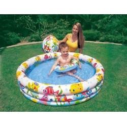 Детский бассейн INTEX Рыбки