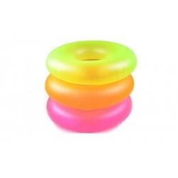 Надувной неоновый круг для плавания INTEX 59262