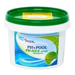 Ph+pool гранулы ph минус 1кг
