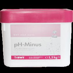 Кислотный гранулят для снижения pH BWT AQA MARIN PH MINUS, 1,5кг