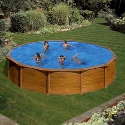 Каркасный круглый бассейн GRE KITPR558WO 550 x 550 x 132 cm