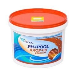 PH+Pool Хлор-60 Ударный в гранулах 8кг