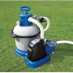 Хлорогенератор + фильтрующий насос для бассейнов объемом до 56,8 м3