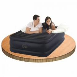 Надувная кровать Raised Downy  со встроенным насосом