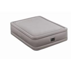 Кровать надувная двуспальная со встроенным насосом 220В