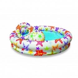 Детский бассейн с мячом и кругом INTEX